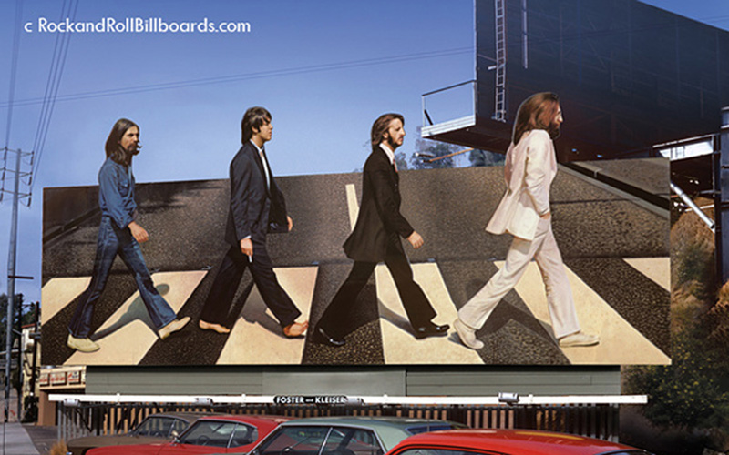 Revisiting the Golden Age of Rock Billboards on the Sunset Strip