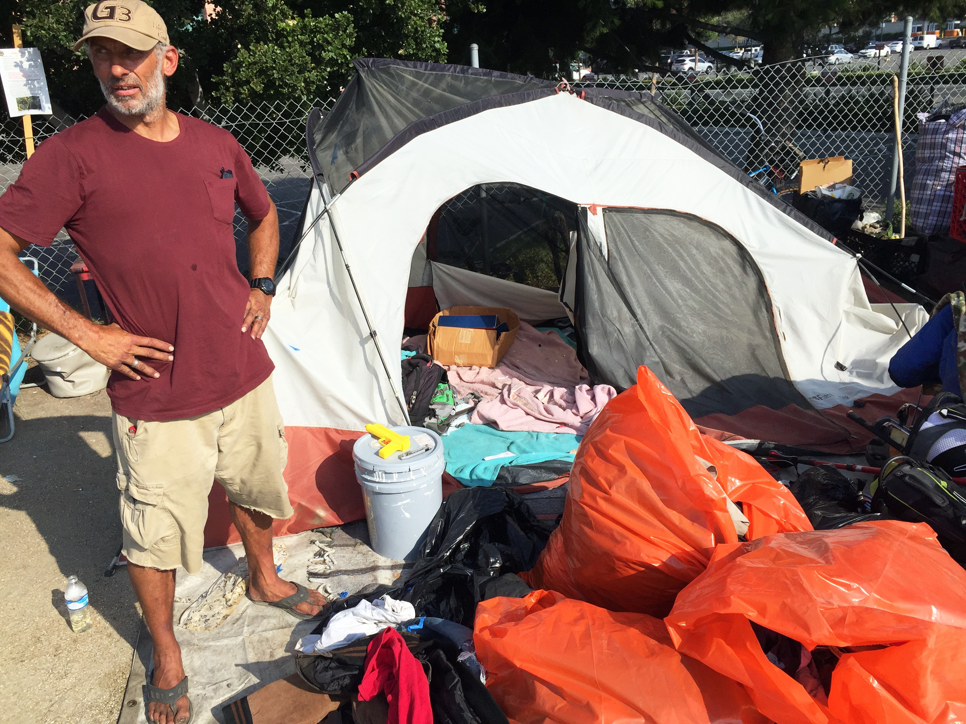Riverbank Homeless Evicted in Orange County