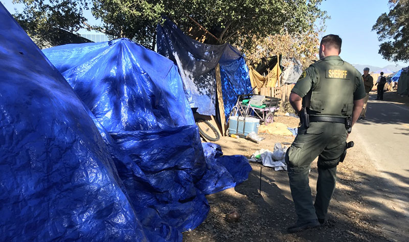 Homeless Advocates Sue to Stop Orange County From Clearing Riverbed Homeless Camps