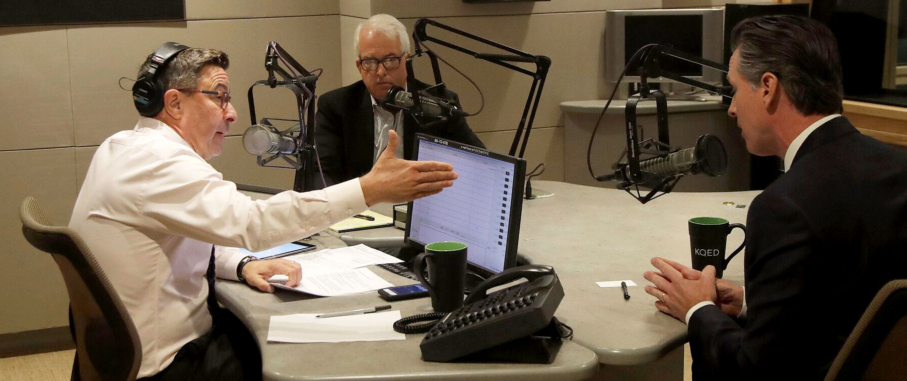 John Cox, Gavin Newsom on Values, Temperament
