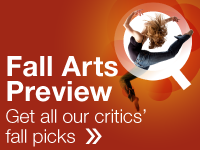 Get all our critics' fall picks