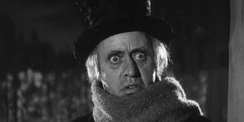alistair sim as scrooge