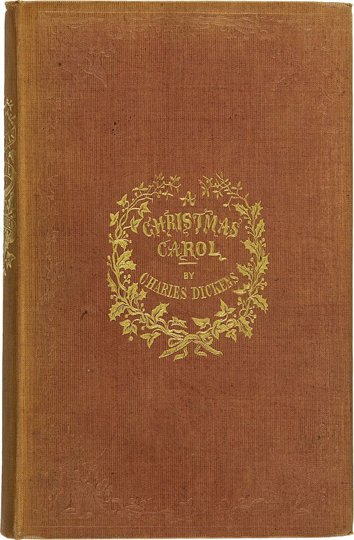 a christmas carol, first edition