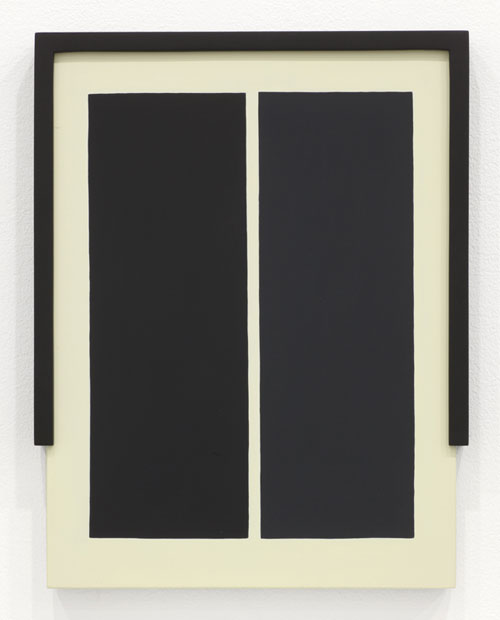 Laeh Glenn, Untitled, 2013. Oil and panel with wood; Courtesy Altman Siegel Gallery, San Francisco